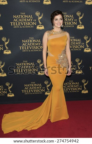 LOS ANGELES - APR 24: Jen Lilley at The 42nd Daytime Creative Arts Emmy Awards Gala at the Universal Hilton Hotel on April 24, 2015 in Los Angeles, California - stock photo