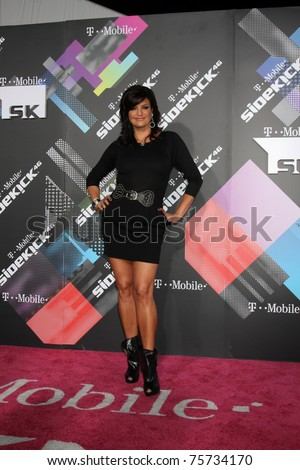 LOS ANGELES - APR 20:  Jennifer Gimenez arriving at the Launch Of The New T-Mobile Sidekick 4G  at Old Robinson/May Building on April 20, 2011 in Beverly Hills, CA..
