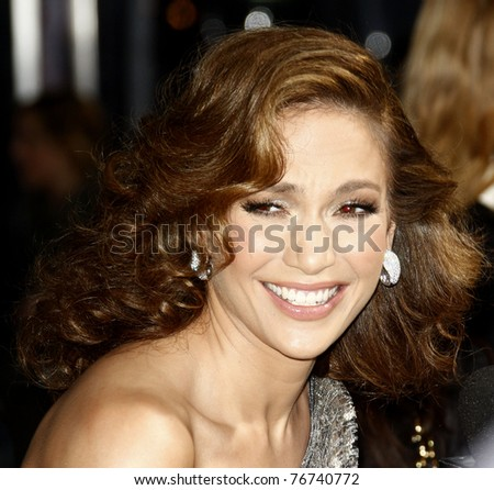 LOS ANGELES - APR 21:  Jennifer Lopez at the premiere of CBS Films' 'The Back-up Plan' held at the Regency Village Theatre in Westwood, Los Angeles, CA on April 21, 2010. - stock photo