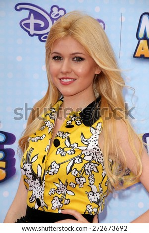 LOS ANGELES - APR 25:  Katherine McNamara at the Radio DIsney Music Awards 2015 at the Nokia Theater on April 25, 2015 in Los Angeles, CA