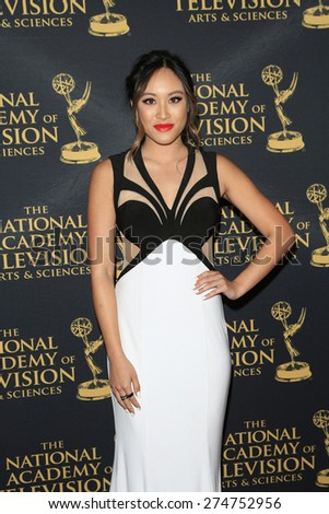 LOS ANGELES - APR 24: Kylie Erica Mar at The 42nd Daytime Creative Arts Emmy Awards Gala at the Universal Hilton Hotel on April 24, 2015 in Los Angeles, California - stock photo