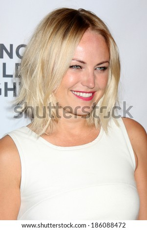 LOS ANGELES - APR 7:  Malin Akerman at the Alliance for Children's Rights' 22st Annual Dinner at Beverly Hilton Hotel on April 7, 2014 in Beverly Hills, CA - stock photo