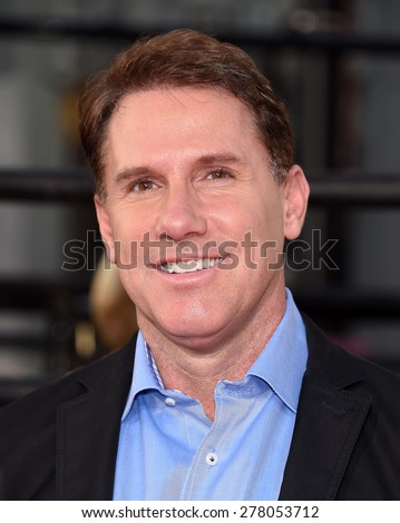 "LOS ANGELES - APR 06:  Nicholas Sparks arrives to the ""The Longest Ride"" Los Angeles Premiere  on April 06, 2015 in Hollywood, CA                 - stock photo"