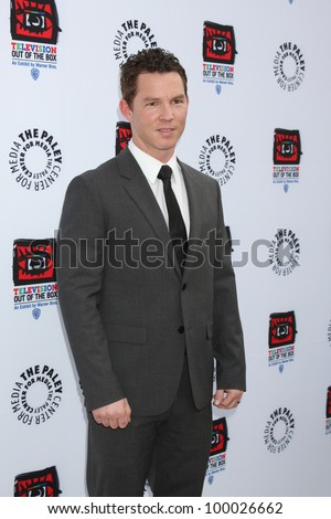 "LOS ANGELES - APR 12:  Shawn Hatosy arrives at Warner Brothers ""Television: Out of the Box"" Exhibit Launch at Paley Center for Media on April 12, 2012 in Beverly Hills, CA - stock photo"