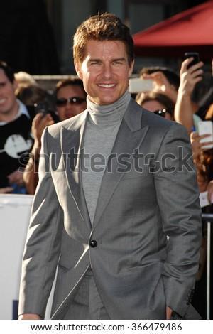 LOS ANGELES - APR 10 - Tom Cruise arrives at the Oblivion American Premiere on April 10, 2013 in Los Angeles, CA