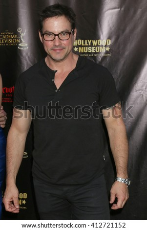 LOS ANGELES - APR 27:  Tyler Christopher at the 2016 Daytime EMMY Awards Nominees Reception at the Hollywood Museum on April 27, 2016 in Los Angeles, CA - stock photo