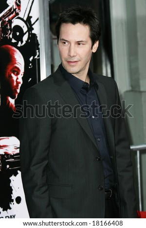 LOS ANGELES - 3 APRIL: Keanu Reeves at the US premiere of 'Street Kings' in Los Angeles - 03 April 2008
