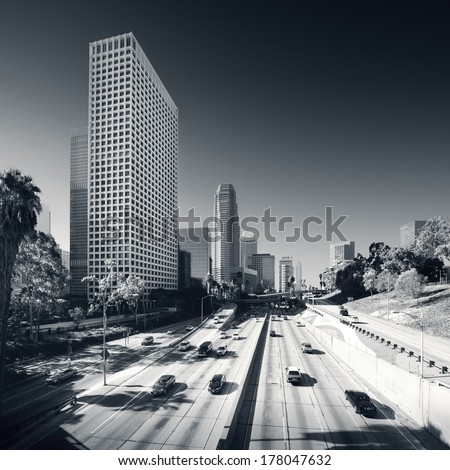 Los Angeles at Day - stock photo