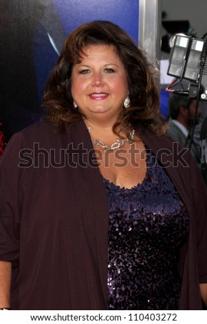"Los Angeles - AUG 16:  Abby Lee Miller arrives at the ""Sparkle""  Premiere at Graumans Chinese Theater on August 16, 2012 in Los Angeles, CA"