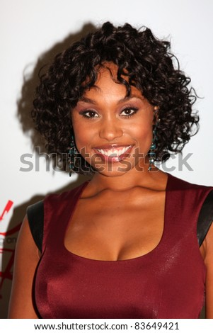 LOS ANGELES - AUG 26:  Angell Conwell attending the Young & Restless Fan Dinner 2011 at the Universal Sheraton Hotel on August 26, 2011 in Los Angeles, CA