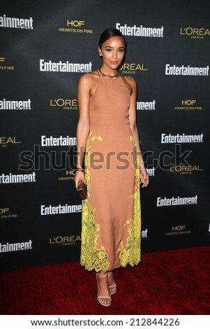 LOS ANGELES - AUG 23:  Ashley Madekwe at the 2014 Entertainment Weekly Pre-Emmy Party at Fig & Olive on August 23, 2014 in West Hollywood, CA - stock photo