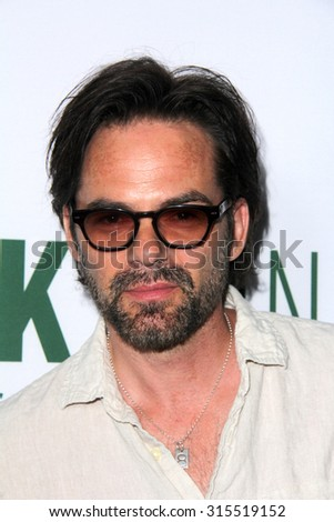 "LOS ANGELES - AUG 27:  Billy Burke at the ""Break Point"" Special Screening at the TCL Chinese 6 Theaters on August 27, 2015 in Los Angeles, CA - stock photo"