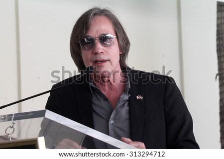LOS ANGELES - AUG 27:  Jackson Browne at the Joe Smith Star on the Hollywood Walk of Fame at the Capital Records Building on August 27, 2015 in Los Angeles, CA - stock photo