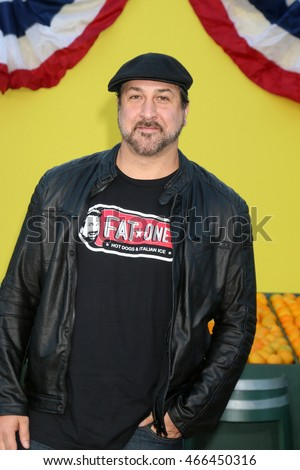 "LOS ANGELES - AUG 9:  Joey Fatone at the ""Sausage Party"" Premiere at the Village Theater on August 9, 2016 in Westwood, CA"