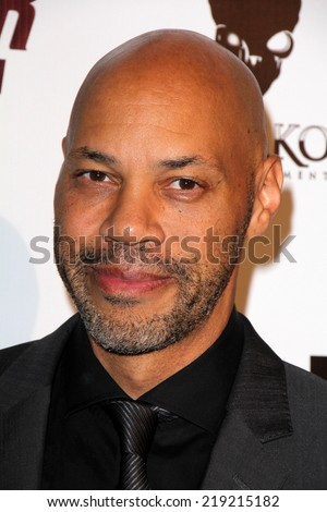 "LOS ANGELES - AUG 22:  John Ridley at the ""Jimi: All Is By My Side"" LA Special Screening at ArcLight Hollywood Theaters on August 22, 2014 in Los Angeles, CA - stock photo"