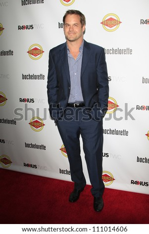 LOS ANGELES - AUG 23: Kyle Bornheimer at the premiere of RADiUS-TWC's 'Bachelorette' at ArcLight Cinemas on August 23, 2012 in Los Angeles, California - stock photo