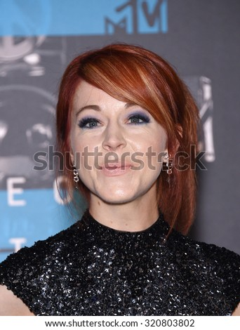 LOS ANGELES - AUG 30:  Lindsey Stirling 2015 MTV Video Music Awards - Arrivals  on August 30, 2015 in Hollywood, CA