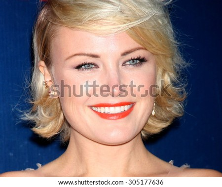 LOS ANGELES - AUG 10:  Malin Akerman at the CBS TCA Summer 2015 Party at the Pacific Design Center on August 10, 2015 in West Hollywood, CA - stock photo
