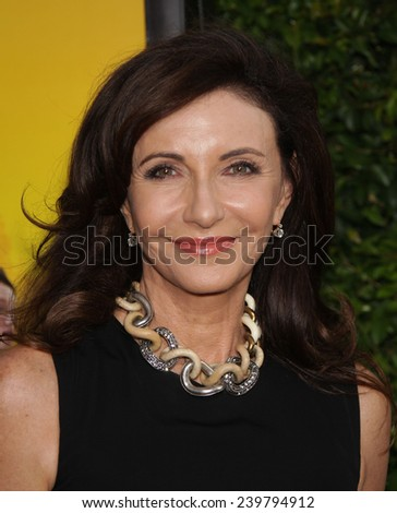 "LOS ANGELES - AUG 09:  MARY STEENBURGEN arrives to the ""The Help"" World Premiere  on August 09, 2011 in Beverly Hills, CA                 - stock photo"