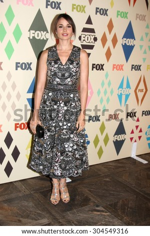 LOS ANGELES - AUG 6:  Mia Maestro at the FOX Summer TCA All-Star Party 2015 at the Soho House on August 6, 2015 in West Hollywood, CA - stock photo