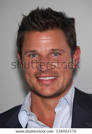 LOS ANGELES - AUG 11:  NICK LACHEY arriving to Summer TCA Party 2011 - NBC  on August 11, 2011 in Beverly Hills, CA