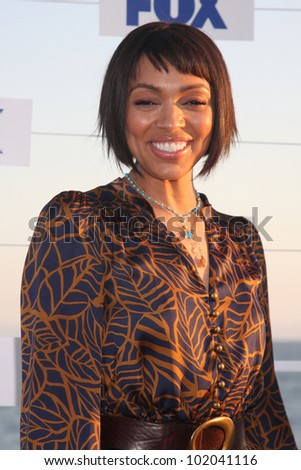 LOS ANGELES - AUG 5:  Tamara Taylor arriving at the FOX TCA Summer 2011 Party at Gladstones on August 5, 2011 in Santa Monica, CA - stock photo