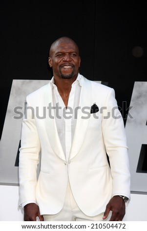 "LOS ANGELES - AUG 11:  Terry Crews at the ""Expendables 3"" Premiere at TCL Chinese Theater on August 11, 2014 in Los Angeles, CA"