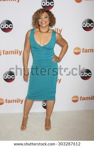 LOS ANGELES - AUG 4:  Tisha Campbell-Martin at the ABC TCA Summer Press Tour 2015 Party at the Beverly Hilton Hotel on August 4, 2015 in Beverly Hills, CA - stock photo