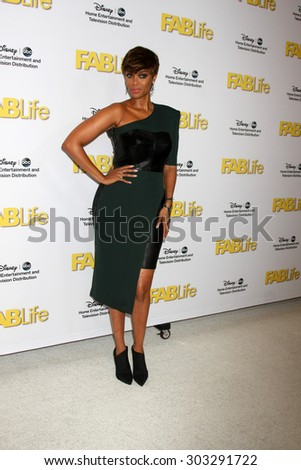 LOS ANGELES - AUG 4:  Tyra Banks at the ABC TCA Summer Press Tour 2015 Party at the Beverly Hilton Hotel on August 4, 2015 in Beverly Hills, CA - stock photo