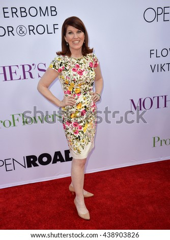 """LOS ANGELES, CA. April 13, 2016: Actress Kate Flannery at the world premiere of """"Mother's Day"""" at the TCL Chinese Theatre, Hollywood. - stock photo"""