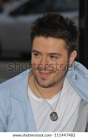 "LOS ANGELES, CA - APRIL 14, 2009: American Idol finalist Danny Gokey at the Los Angeles premiere of ""17 Again"" at Grauman's Chinese Theatre, Hollywood. - stock photo"