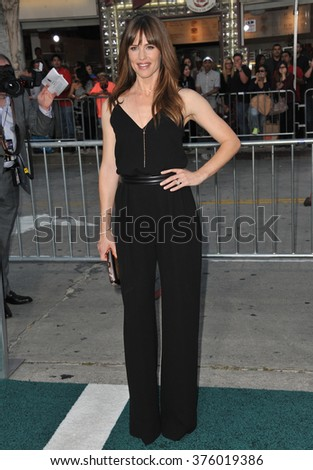 """LOS ANGELES, CA - APRIL 7, 2014: Jennifer Garner at the Los Angeles premiere of her movie """"Draft Day"""" at the Regency Village Theatre, Westwood.  - stock photo"""
