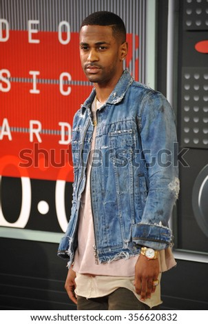 LOS ANGELES, CA - AUGUST 30, 2015: Rapper Big Sean at the 2015 MTV Video Music Awards at the Microsoft Theatre LA Live.