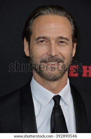 "LOS ANGELES, CA - DECEMBER 7, 2015: Actor Craig Stark at the premiere ""The Hateful Eight"""