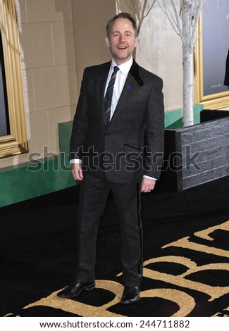 "LOS ANGELES, CA - DECEMBER 9, 2014: Singer Billy Boyd at the Los Angeles premiere of his movie ""The Hobbit: The Battle of the Five Armies"" at the Dolby Theatre, Hollywood.  - stock photo"