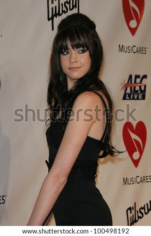 LOS ANGELES, CA - FEB 9: Stevie Scott at the 2007 MusiCares Person Of The Year at the LA Convention Center on February 9, 2007 in Los Angeles, California