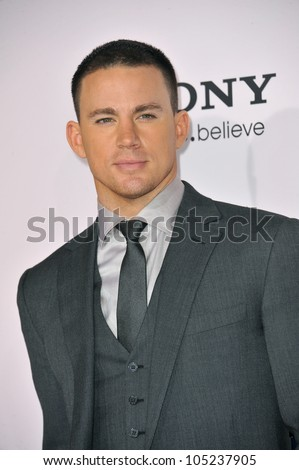 "LOS ANGELES, CA - FEBRUARY 6, 2012: Channing Tatum at the world premiere of his new movie ""The Vow"" at Grauman's Chinese Theatre, Hollywood. February 6, 2012  Los Angeles, CA"
