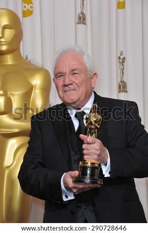 LOS ANGELES, CA - FEBRUARY 27, 2011: David Seidler at the 83rd Academy Awards at the Kodak Theatre, Hollywood. - stock photo
