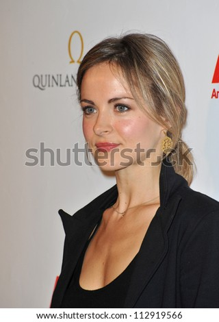 LOS ANGELES, CA - FEBRUARY 19, 2009: Gemma Hayes at the US-Ireland Alliance Oscar Wilde Gala at the Ebell Club, Los Angeles. - stock photo