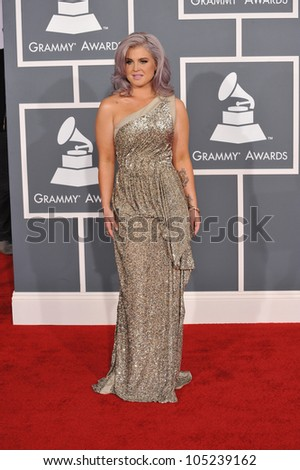 LOS ANGELES, CA - FEBRUARY 12, 2012: Kelly Osbourne at the 54th Annual Grammy Awards at the Staples Centre, Los Angeles. February 12, 2012  Los Angeles, CA