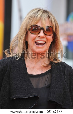 "LOS ANGELES, CA - FEBRUARY 19, 2012: Linda Gray at the world premiere of ""Dr. Suess' The Lorax"" at Universal Studios, Hollywood. February 19, 2012  Los Angeles, CA"