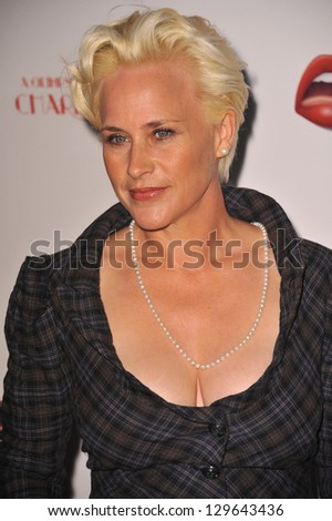 "LOS ANGELES, CA - FEBRUARY 4, 2013: Patricia Arquette at the Los Angeles premiere of her new movie ""A Glimpse Inside the Mind of Charles Swan III"" at the Arclight Theatre, Hollywood."