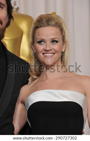 LOS ANGELES, CA - FEBRUARY 27, 2011: Reese Witherspoon at the 83rd Academy Awards at the Kodak Theatre, Hollywood. - stock photo