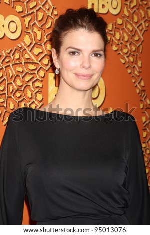 LOS ANGELES, CA - JAN 17: Jeanne Tripplehorn at the 67th Annual Golden Globe Awards HBO After Party at The Beverly Hilton Hotel on January 17, 2010 in Los Angeles, California