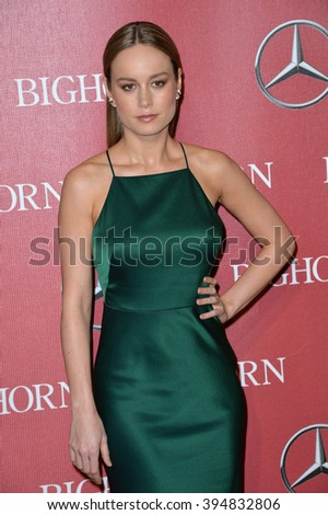 LOS ANGELES, CA - JANUARY 2, 2016: Actress Brie Larson at the 2016 Palm Springs International Film Festival Awards Gala - stock photo