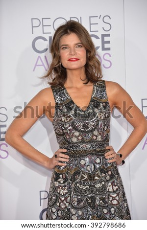 LOS ANGELES, CA - JANUARY 6, 2016: Betsy Brandt at the People's Choice Awards 2016 at the Microsoft Theatre LA Live.