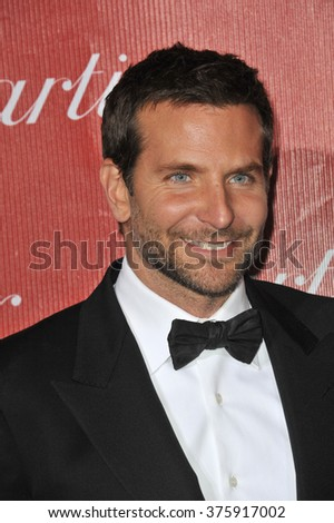 LOS ANGELES, CA - JANUARY 4, 2014: Bradley Cooper at the 2014 Palm Springs International Film Festival Awards gala at the Palm Springs Convention Centre.