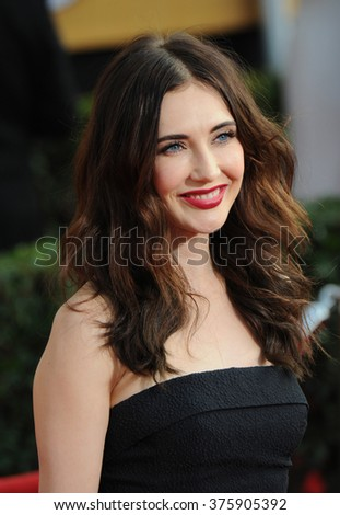 LOS ANGELES, CA - JANUARY 18, 2014: Carice van Houten at the 20th Annual Screen Actors Guild Awards at the Shrine Auditorium.