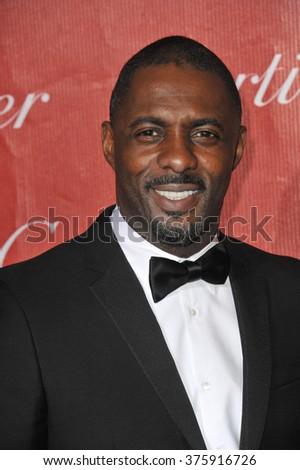 LOS ANGELES, CA - JANUARY 4, 2014: Idris Elba at the 2014 Palm Springs International Film Festival Awards gala at the Palm Springs Convention Centre. - stock photo