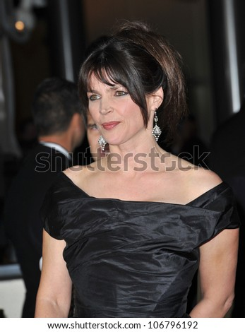 LOS ANGELES, CA - JANUARY 29, 2011: Julia Ormond at the 63rd Annual Directors Guild of America Awards at Hollywood & Highland. January 29, 2011  Los Angeles, CA